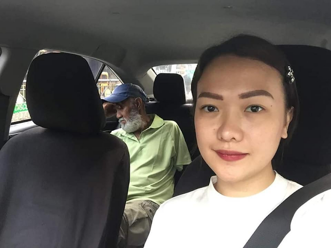 VIRAL: Pasahero, ipinagmaneho ang inaantok na taxi driver