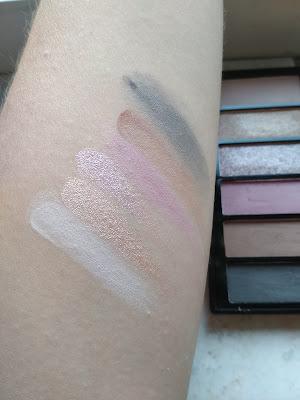 Gabriella Salvete Smokey Obsession paletka očných tieňov swatch