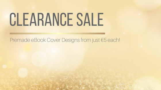Premade eBook Cover Just €5 Each!