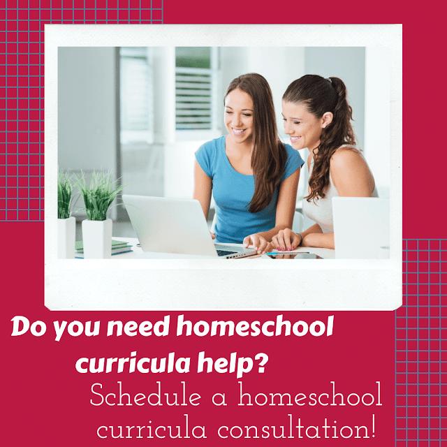 Homeschool curricula help