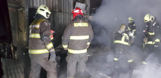 Osorno: Incendio destruyó vivienda del sector de Rahue