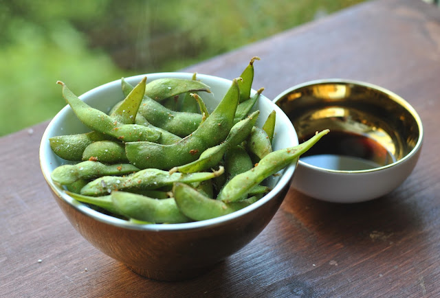 Edamame - Grüne Sojabohnen