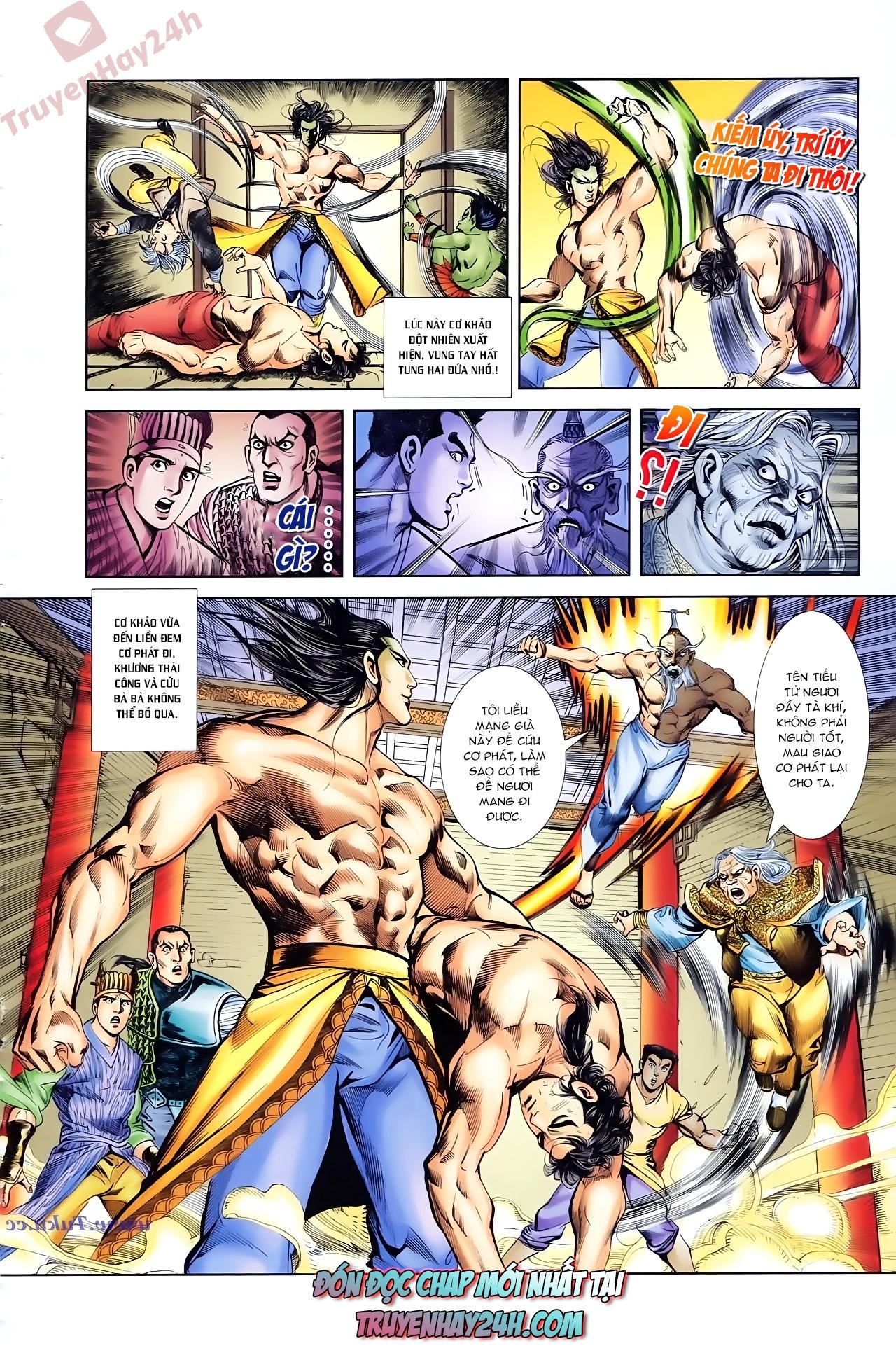Cơ Phát Khai Chu Bản chapter 83 trang 29