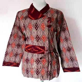 baju batik wanita kantor