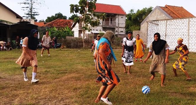 Lomba sepakbola daster