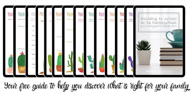 free ebook guide to help you choose between school and homeschool
