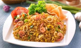 Resep Nasi Goreng Seafood Special