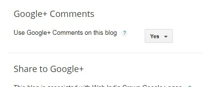 Google Plus Comments Change