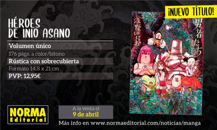 Héroes (Yuusha-tachi) manga - Inio Asano - Norma Editorial