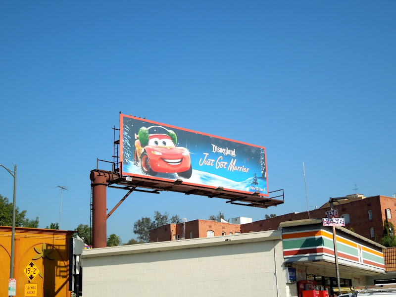 Disneyland Just Got Merrier billboard
