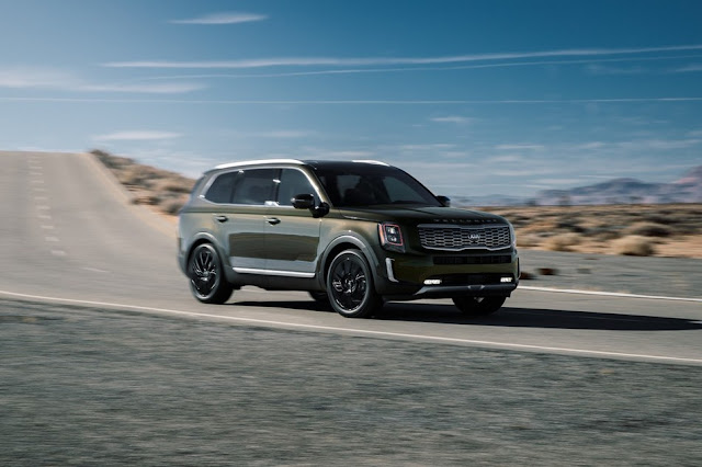 "Kia Telluride Named ""SUV of Texas"" By The Texas Auto Writers Association"