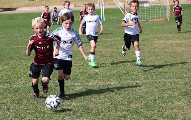 bermain sepak bola