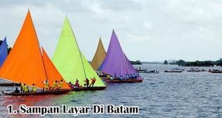 Sampan Layar Di Batam merupakan salah satu tradisi unik 17an di berbagai daerah Indonesia