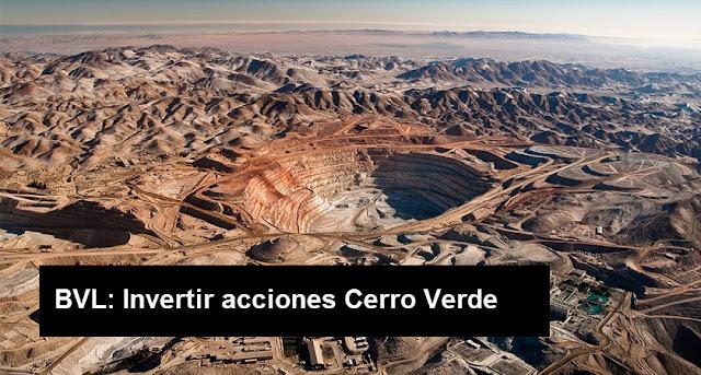 Invertir acciones de Cerro Verde