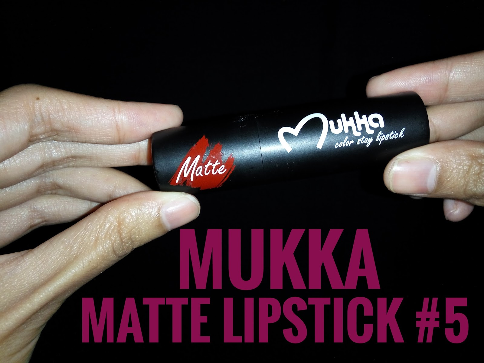 Review Mukka Matte Lipstck #5 - DaretoChange by Indonesian