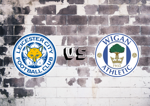 Leicester City vs Wigan Athletic  Resumen