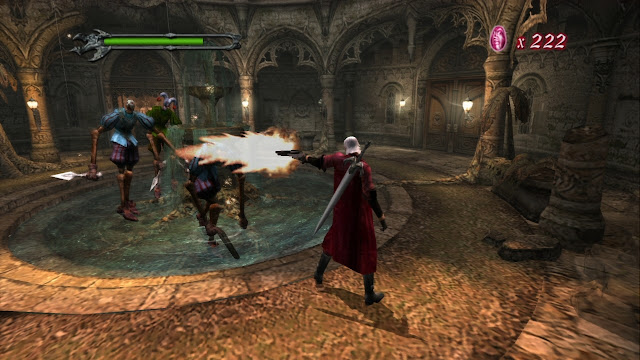 Devil May Cry PS2 GAME ISO Screenshot 2