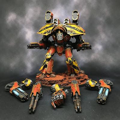 Legio Ignatum Warlord Titan for Adeptus Titanicus