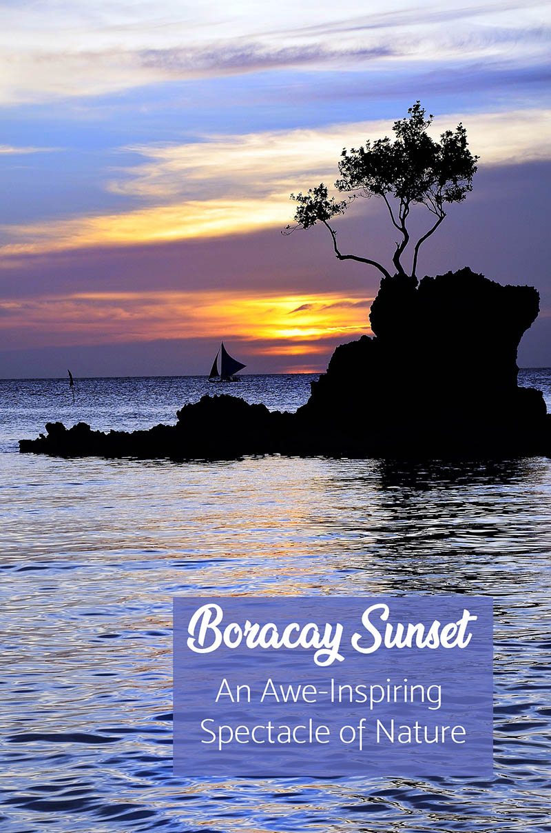 #Boracay #sunset has been there since time immemorial. The people who first lived on the island have long disappeared on the face of the earth. Nevertheless, the sunset that has made Boracay the favorite place it is today will linger on and never change.