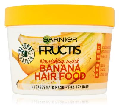 Garnier Fructis Banana Hair Food mască nutritivă pentru păr foarte uscat