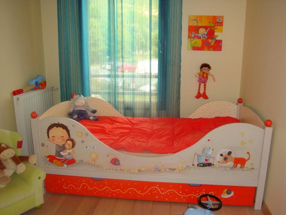 chambre d 39 enfant garcon. Black Bedroom Furniture Sets. Home Design Ideas