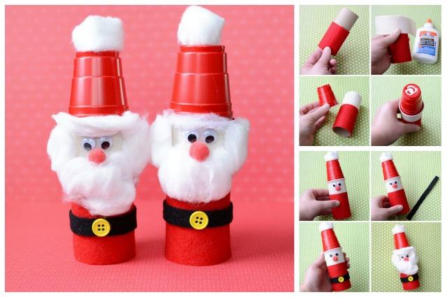 20 manualidades navide as f ciles de hacer mundo de rukkia - Manualidades navidenas faciles de hacer en casa ...