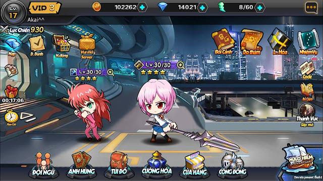 Vũ Trụ Manga: Game có nhân vật truyện tranh anime, manga, comic nổi tiếng 1