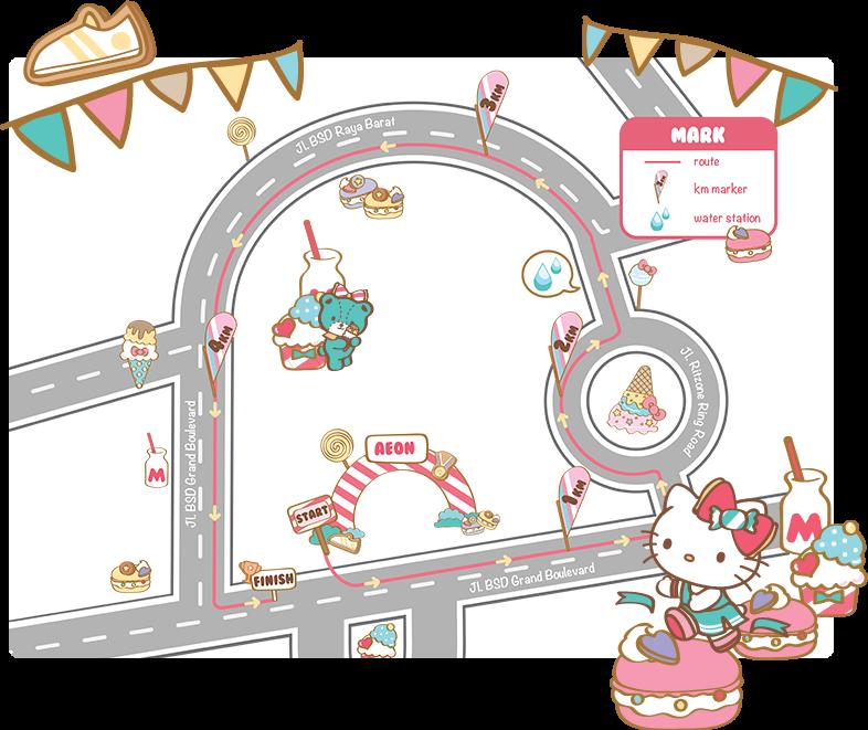 Hello Kitty Run • 2017