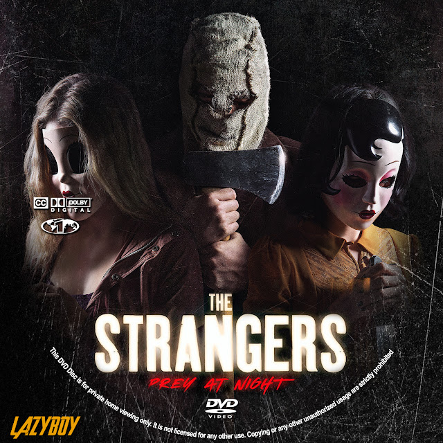 The Strangers: Prey at Night DVD Label