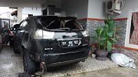 Mobil Ketua YARA Kota Langsa Dibakar OTK
