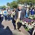 """Conmemoran el """"Día del Maestro"""" con un emotivo acto y ofrendas florares en el busto de Sarmiento"""