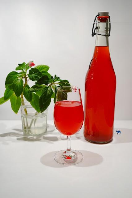 Le Chameau Bleu - Recette du jus de shiso rouge