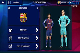 DLS 2020 Mod Full Transfer Skuad FC Barcelona 2020 2021