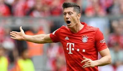 Bayern munich vs Leipzig copa de Alemania hoy goles lewandowski