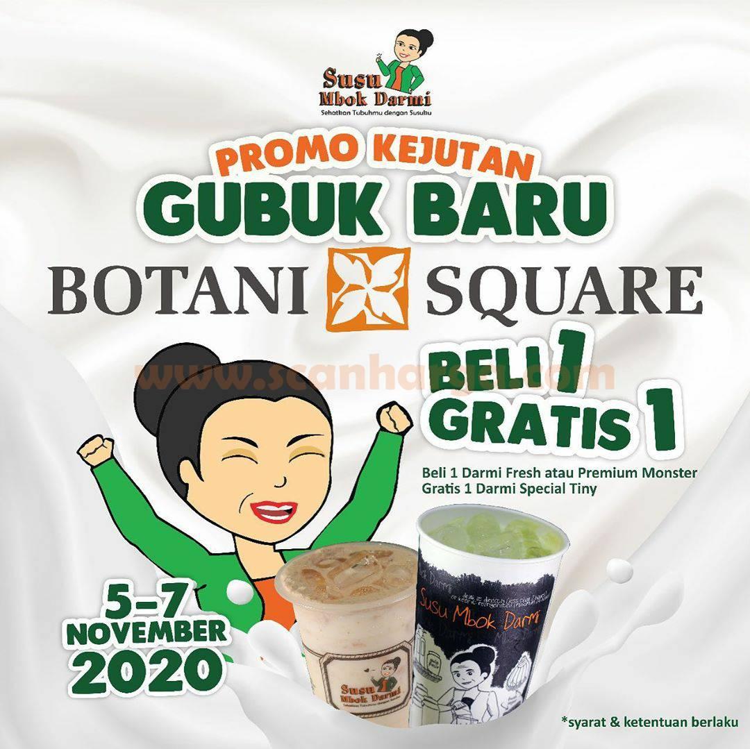 Promo Susu Mbok Darmi Beli 1 Gratis 1 - Opening Mal Botani Square