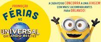 Promoção Saraiva 'Férias no Universal Orlando Resort'