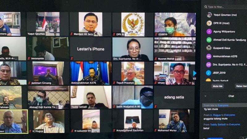 Pilkada 2020 Ditunda Melalui Rapat Virtual