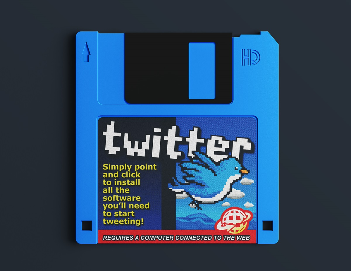 If Twitter Website Existed in the '90s