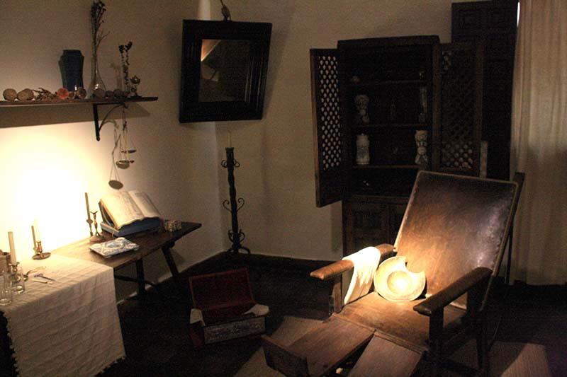 Habitación casa natal Cervantes