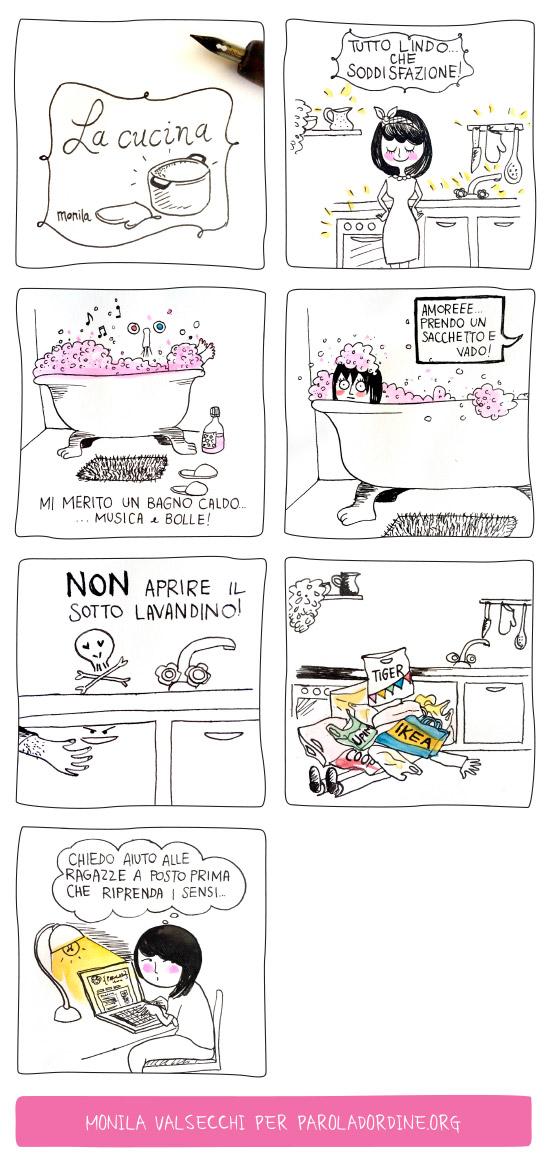 Paroladordine i ghirigori di Monila vignette
