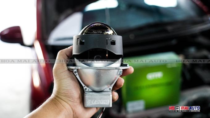 Honda Brio nâng cấp bi G-LED V3 SE sáng vượt trội TẠI HOA MAI AUTO