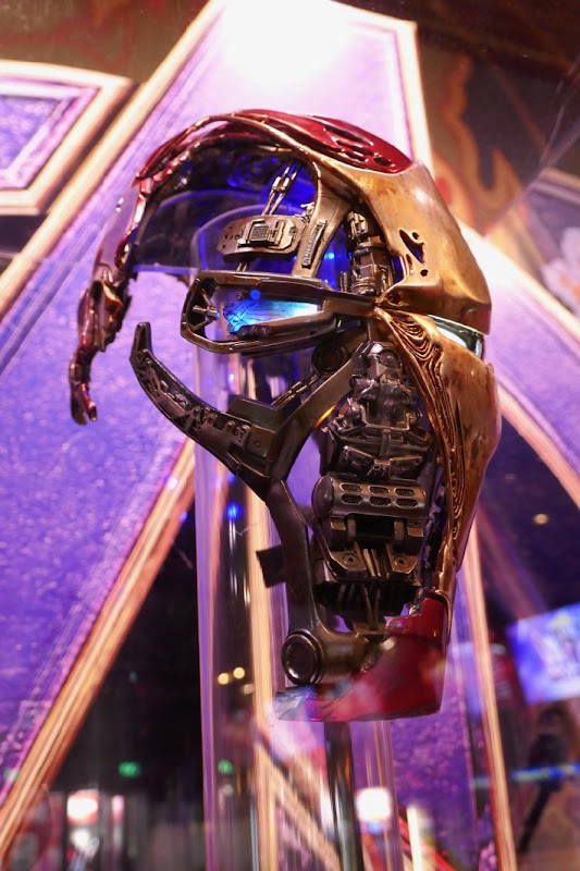Iron Man Mark 50 helmet Avengers Endgame