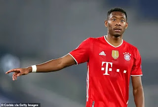 Barcelona 'reach verbal agreement with David Alaba'