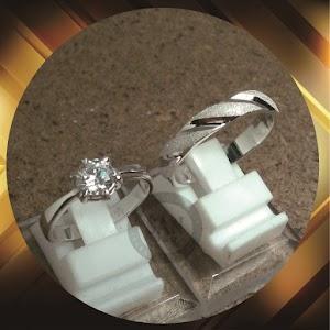 cincin kawin perak p5680