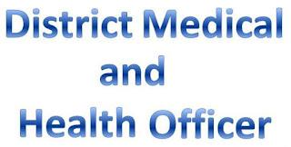 DMHO jobs,latest govt jobs,govt jobs,latest jobs,jobs,Medical Officer jobs