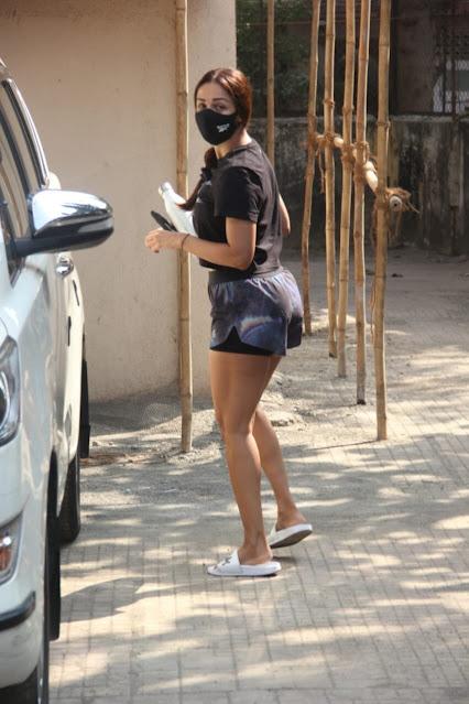 Malaika Arora heading to workout