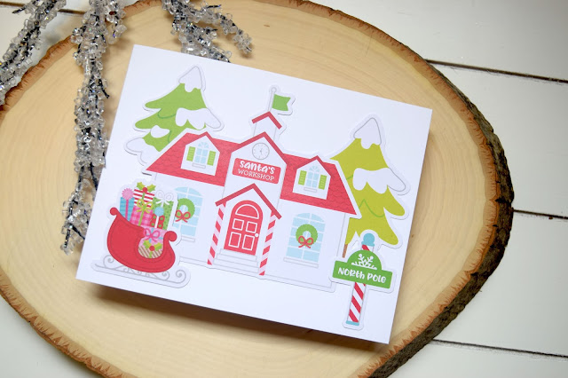 Cards with Doodlebug Design Christmas Town by Jess Crafts