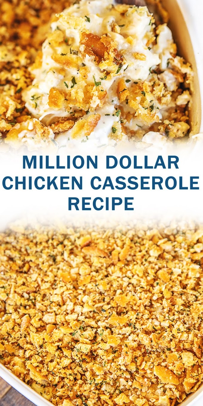MILLION DOLLAR CHICKEN CASSEROLE RECIPE