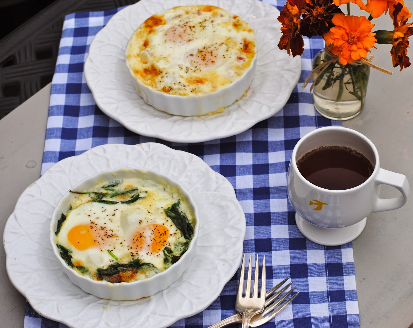 Bakeaway with Me: Oeufs en Cocotte…a fancy French name for