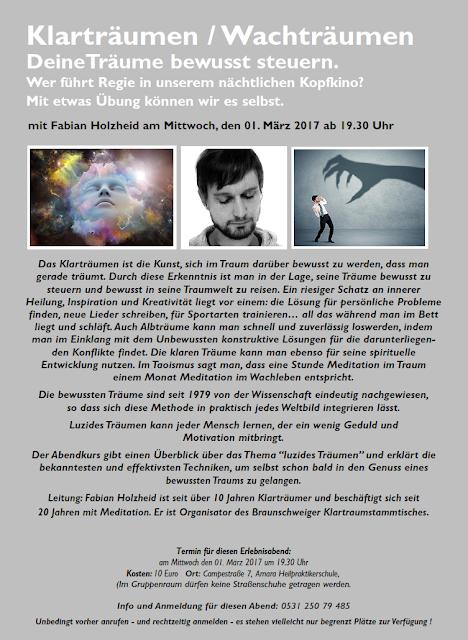 Klartraumvortrag in Braunschweig